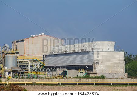Cooling Tower Of Chemical Industry Plant, Thailand