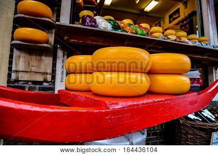 Edam Cheese In Holland