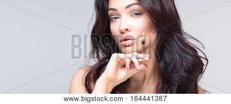 Portrait Of Attractive Woman.