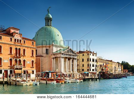 View Of The San Simeone Piccolo, Venice, Italy