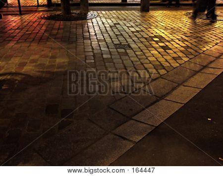 Paris Ground By Night