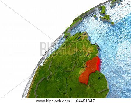 Guyana On Earth
