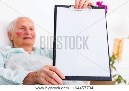 Nursing Home Copy Space