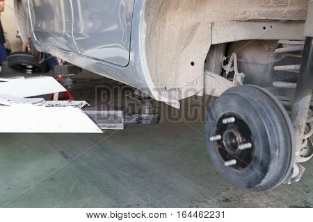Car In Tire Replacement Service