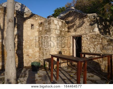 Historical Turkish Baths In The Center Of Pafos