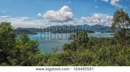 Viewpoint on Ko Chang island in Thailand