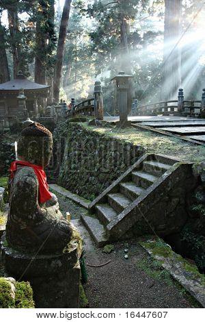 Okunoin Cemetery at Mount Koya poster