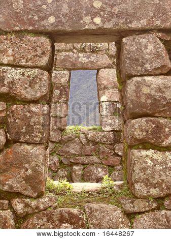 Inca stonework in Peru
