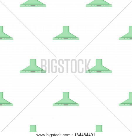 Exhaust hood icon in cartoon style isolated on white background. Household appliance symbol vector illustration.