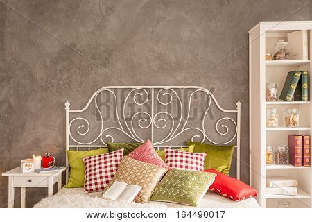 Cozy Bedroom With Bed