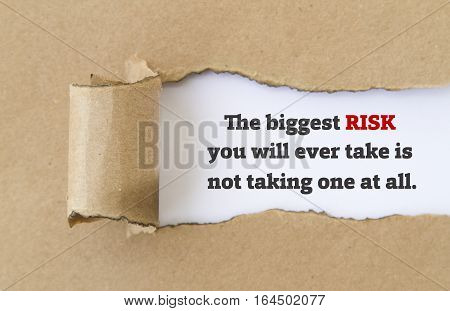 what is the biggest risk you have ever taken What's the biggest risk you ever took i think the biggest risk we ever took was taking we keep on living in this weird state of risk, and you've been.