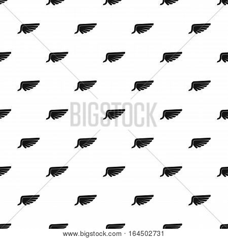 Plumage wing birds pattern. Simple illustration of plumage wing birds vector pattern for web