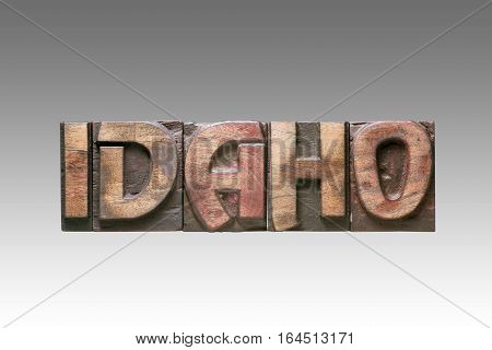 Idaho Vintage Type