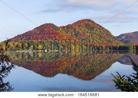 Lac-superieur, Mont-tremblant, Quebec, Canada