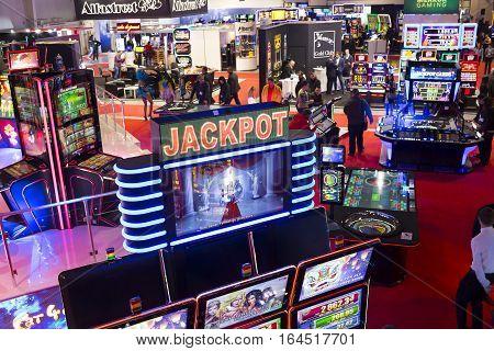 Casino Room Jackpot Slot Machines