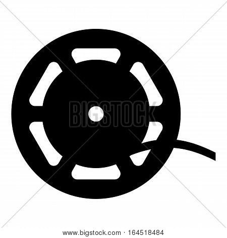 Reel icon. Simple illustration of reel vector icon for web