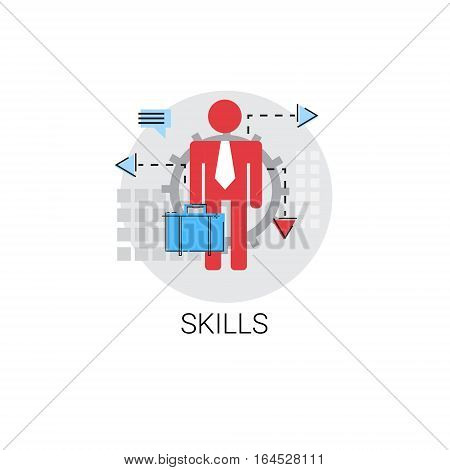 Business Skills Creative Idea Icon Vector Illustration