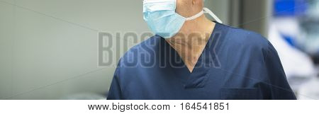 Surgeon In Operating Theater