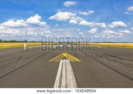 Berlin Tempelhof Airport, Former Airport Of Berlin, Germany