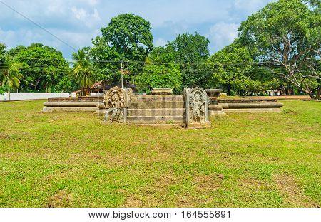 The Ancient Ruins In Anuradhapura