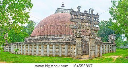 Torana Gates Of The Stupa