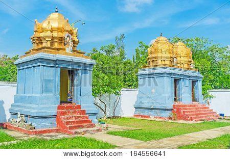 The Shrines Of Sri Kadhiresan Kovil Temple