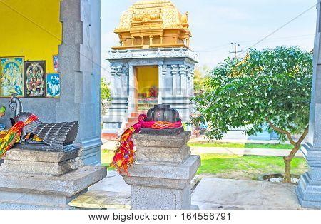 Hindu Temple In Anurdhapura