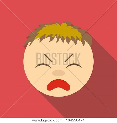Painfully icon. Flat illustration of painfully vector icon for web
