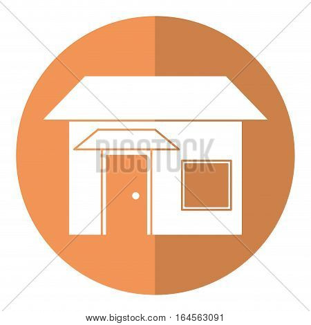 house real state shadow vector illustration eps 10