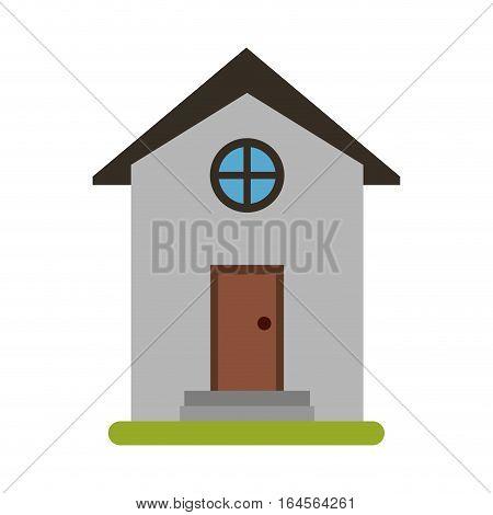 house building town residence vector illustration eps 10
