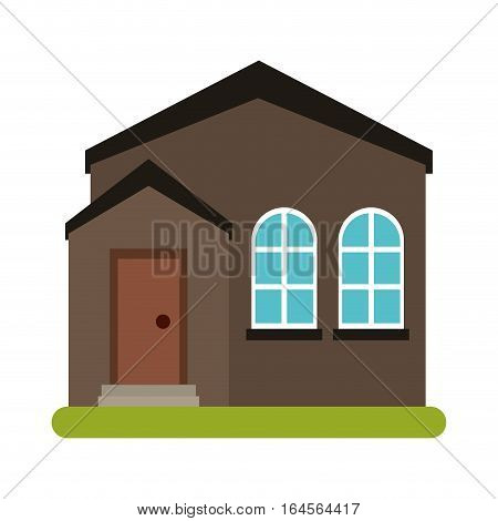home real state expensive american modern vector illustration eps 10