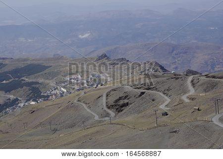 The Sierra Nevada Hosts The Highest Peaks Of Inland Spain.