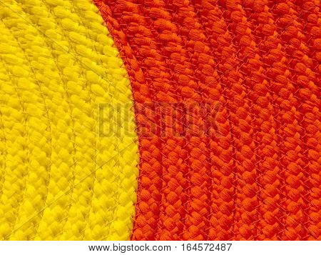 two tone yellow and orange background texture for text area and lifestyle in close up