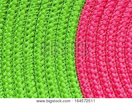 two tone Green and pink background texture for text area and lifestyle in close up