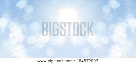 Abstract bokeh background for creative work space