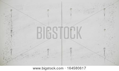 Monolithic concrete slabs as a background fragment illustration