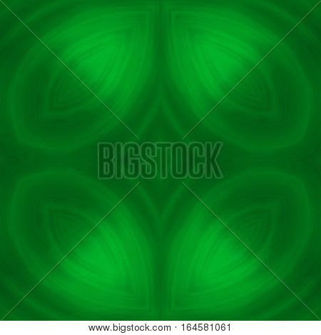 Symbolic green spiritual healing energy restful esoteric background
