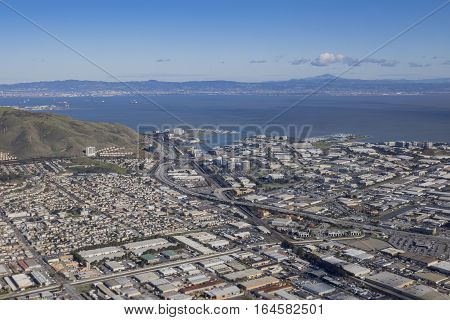 Aerial View Of South San Francisco