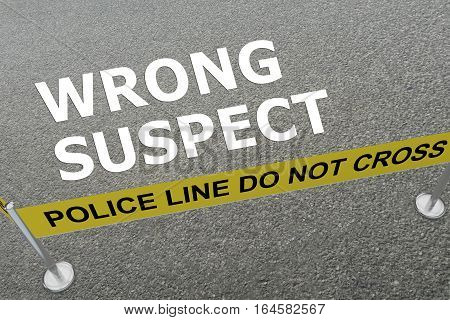 Wrong Suspect Concept