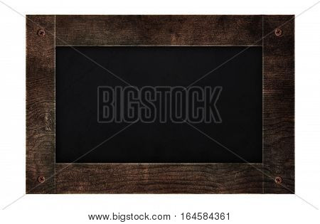 wooden frame blackboard , menu board backgrounds