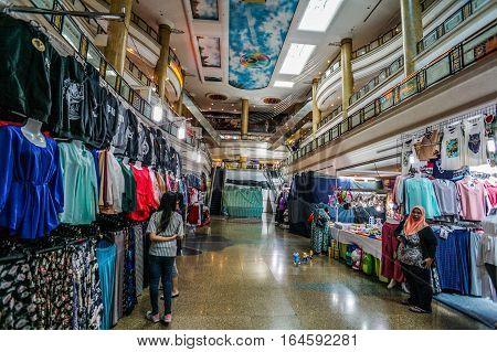 Bandar Seri Begawan,Brunei-Nov 11,2016:Gadong Mall is the largest shopping mall in Gadong area after Yayasan Sultan Hj Hassanal Bolkiah Shopping Mall in the capital of Bandar Seri Begawan.