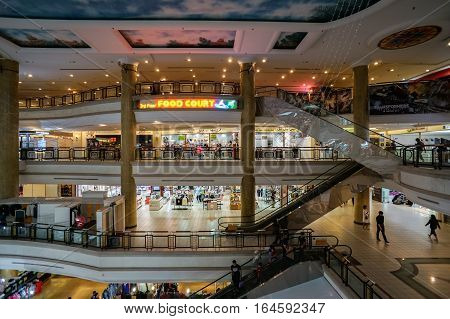 Bandar Seri Begawan,Brunei-Nov 11,2016:Gadong Mall is the largest shopping mall in Gadong area after Yayasan Sultan Hj Hassanal Bolkiah Shopping Mall in the capital of Bandar Seri Begawan.