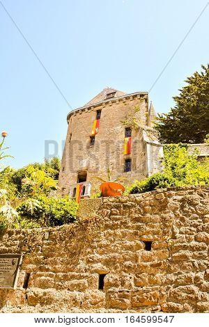Le Mont Saint-michel Tidal Island Normandy Northern France