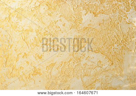 orange light color relief plaster strokes and inequality