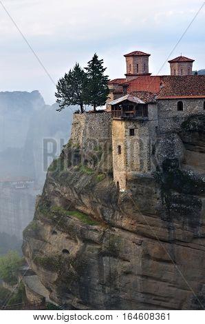 Meteora Monasteries. Greece