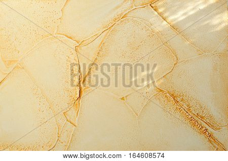 beige color relief plaster strokes and inequality folds wrinkles