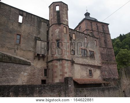 Picture of the Heidelberg Castle in Germany