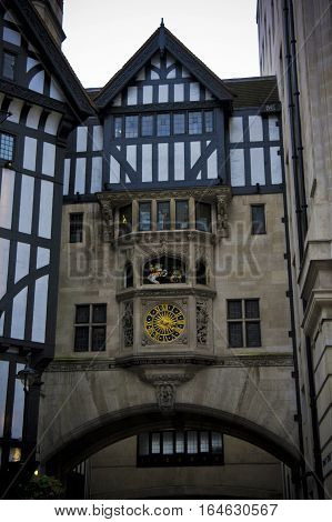 detail of a palace facade in london
