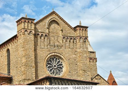 The church of Santa Maria Novella, Florence, detail