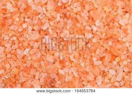 Sea salt crystals close-up. Sea salt closeup